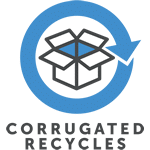 Corrugated Recycled Logo